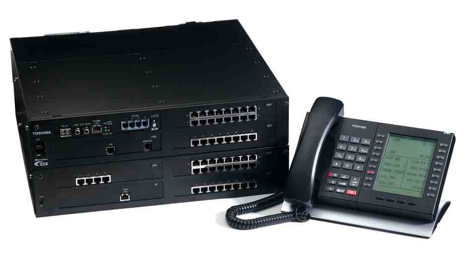 Toshiba Strata CIX200 IP Business Telephone System 1